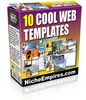Thumbnail 10 Cool Web Templates PLR.zip