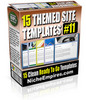 Thumbnail 15 Themed Site Templates Vol10 MRR.zip