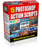 Thumbnail 15 Photoshop Actions PLR.zip