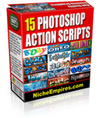 Product picture 15 Photoshop Actions PLR.zip