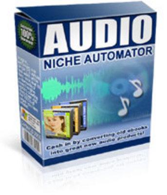 Product picture Audio Niche Automator.zip