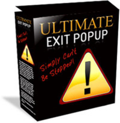 Product picture Ultimate Exit Popup MRR.zip