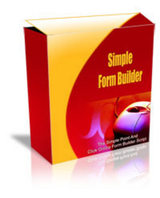 Product picture Simple Form Builder MRR.zip