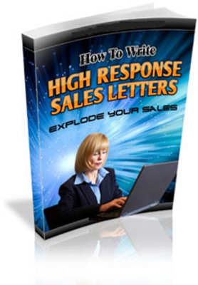 Product picture High Response Salesletters MRR.zip
