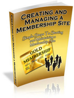 Product picture Creating And Managing membership sites